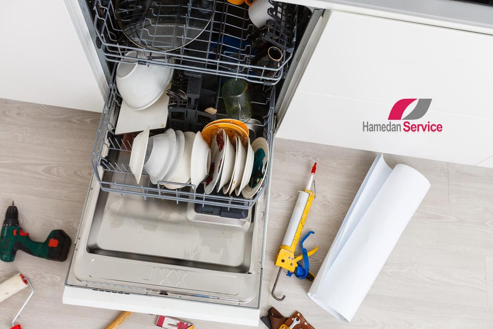 علت کدر شدن، سفیدک زدن و خش افتادن ظروفشویی